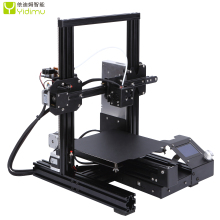 2019 Hot Selling High Precision DIY Kit Frame FDM 3D Printer with Filament 3D Printer Open Build Large Print Size 220*220*250MM high qualtiy wanhao high precision d4s industrial 3d digital laser metal printer for sale with free tool bag sd card filament