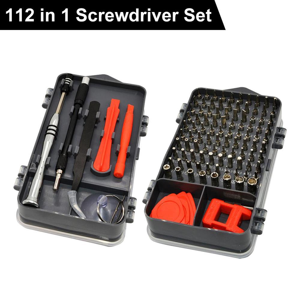 Hot 112 in 1 Screwdriver Set Mobile Phone Maintenance Disassembly Hand Tool Hand Tool Set Screwdriver Set Mobile Phone Maint
