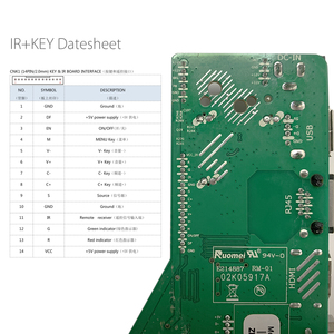 Image 5 - Android 8.0 1G + 4G 4 rdzenie MSD358V5.0 inteligentna inteligentna bezprzewodowa sieć WI FI TV panel sterowników LCD uniwersalny kontroler 3.3/5/12V