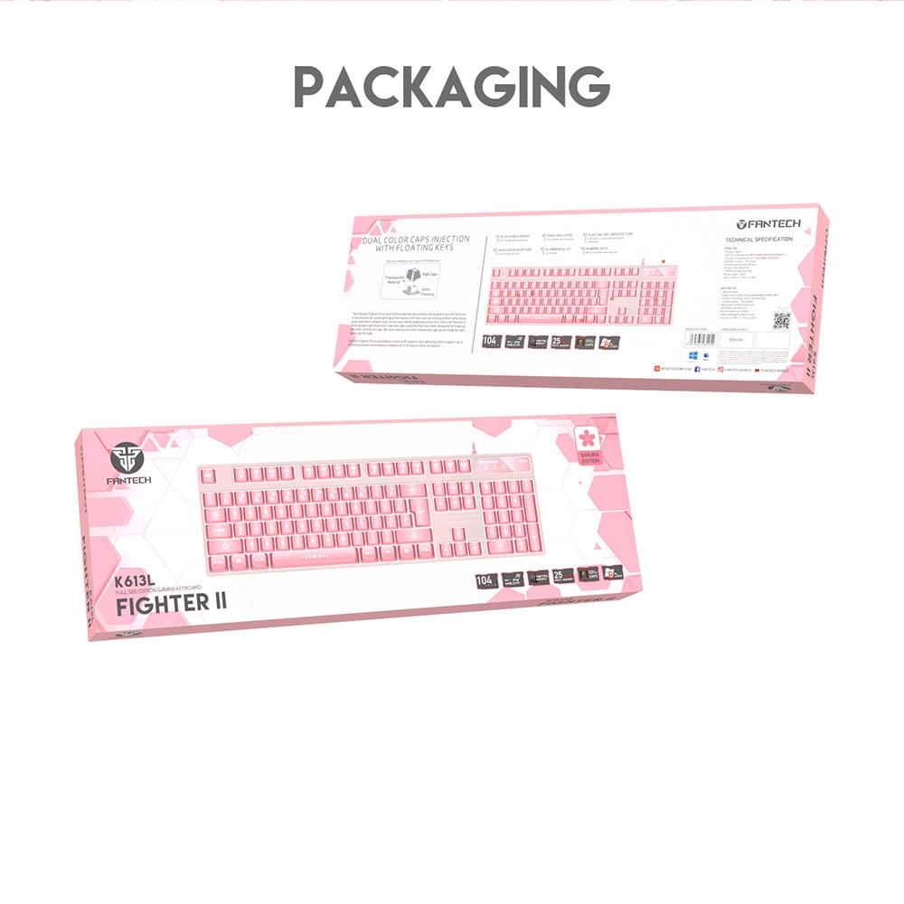 Fantech K613L Sakura Edition Gaming Keyboard 9