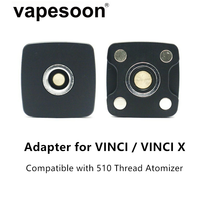 Electronic Cigarette DIY Connector 510 Adapter For VOOPOO VINCI / VINCI X Kit Pod With 510 Thread Atomizer Vape