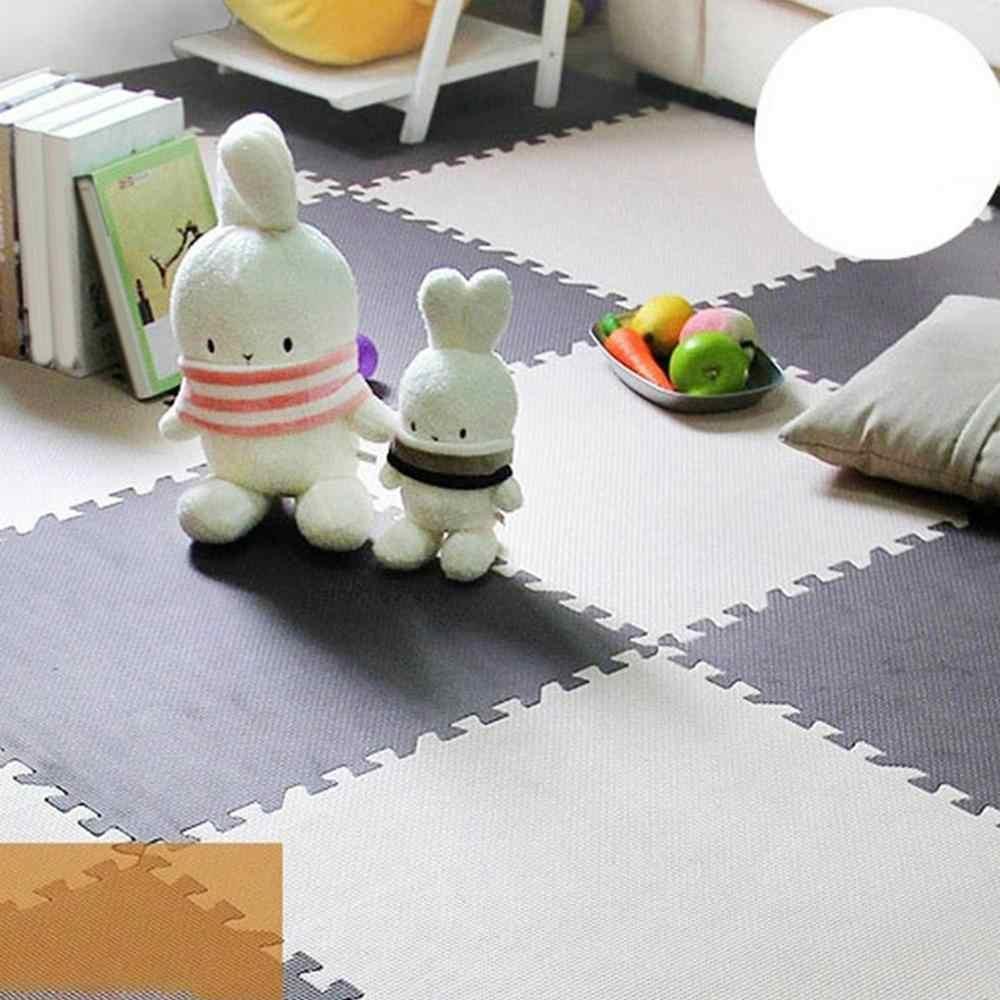 30*30cm עמיד למים ביתי רצפת קצף מתקפל תינוק לשחק מחצלת פלסטיק שינה טאטאמי מעונות סטודנטים פסיפס פאזל מחצלת