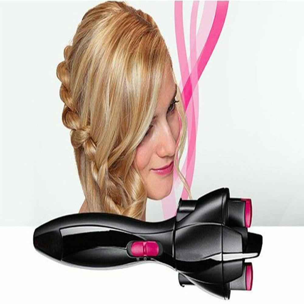 Электрическая машинка для плетения волос, автоматическая машинка для плетения волос, инструмент для укладки волос