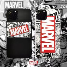 Luxus Marke Marvel Comic Telefon Fall Für iphone 11 Pro Max 6 s 7 8 Plus X XS 10 XR MAX mode Weiche Silikon Abdeckung Coque Junge(China)