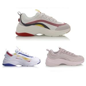 Image 2 - (Break Code)Li Ning Women AURORA WINDWALKER Lifestyle Shoes Retro LiNing li ning Sport Shoes Comfort Sneakers AGCP108 YXB307