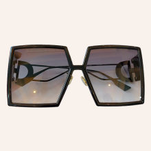 Square Sunglasses New-Shades Vintage Women Brand Designer Oculos Oversize Fashion Personality