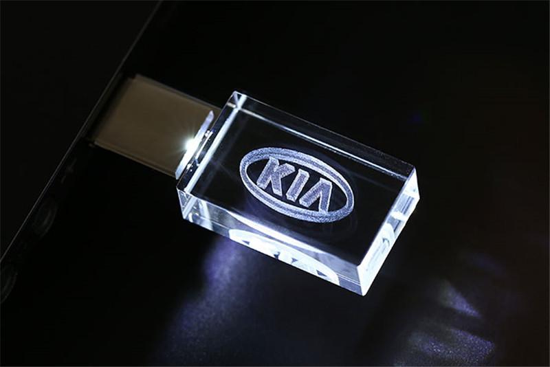 IsMyStore: JASTER HOT KIA kristal + metalen USB flash drive pendrive 4GB 8GB 16GB 32GB 64GB 128GB Externe Opslag memory stick u disk