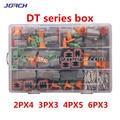 250 stücke Deutsch DT serie Wasserdichte Draht Connector Kit DT06-2/3/4/6S DT04-2/3/4/6P Automotive Versiegelt Stecker mit pins box