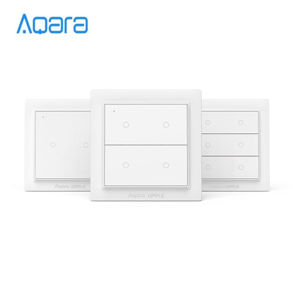Aqara Opple Wireless Scene Switch Zigbee 3.0 Customizable Wireless Control Wall Switch No Wiring Required Support Apple HomeKit
