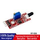 5PCS KY-026 Flame Sensor Module IR Sensor Detector For Temperature Detecting Suitable For Arduino New original