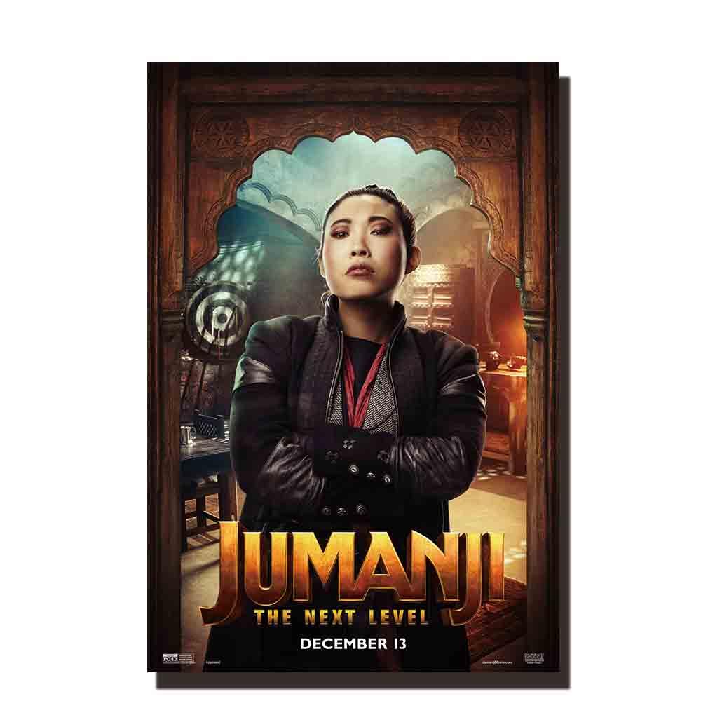Jumanji Welcome to the Jungle Movie Poster Kevin Hart v2 -Dwayne Johnson 24x36