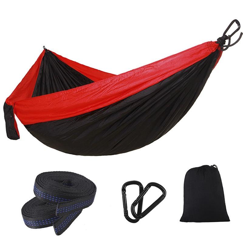 Ultralight Outdoor Camping Hammock Sleep Swing Tree Bed Garden Backyard Furniture Hanging Chair Hangmat 270*140cm(China)