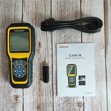 OBDSTAR outil de réglage de lodomètre, outil de Correction de kilométrage et OBDII, X300M, ajout pour modèles Fiat/Volvo et MQB