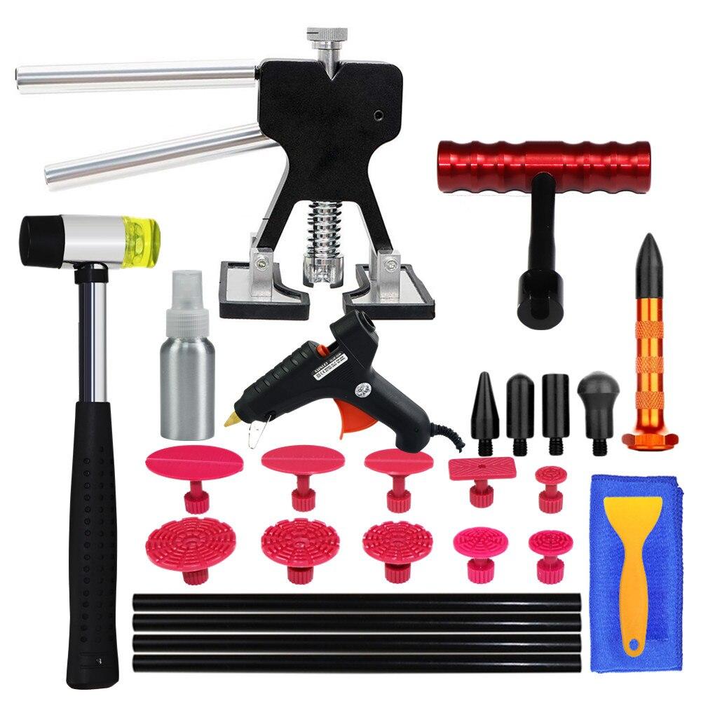 PDR Tools Paintless Dent Repair Dent Removal Car Body Repair Kit To Remove Dent Puller Auto Repair Tools For Car Body