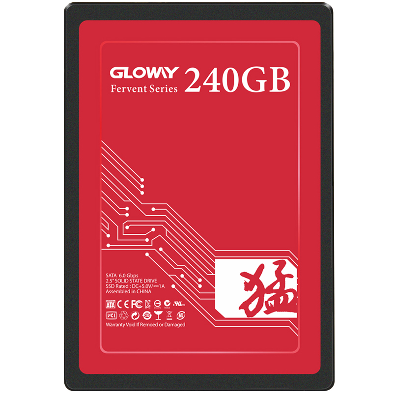 Gloway Hot Sale SSD 240GB 120GB Solid State Drive SATA III 2.5