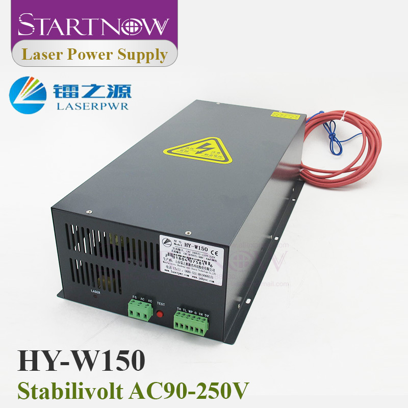 HY-W150 Co2 Laser Power Supply 130W 150W Co2 Laser Device 110V 220V PSU Co2 Laser Source For Laser Cutting Engraving Machine