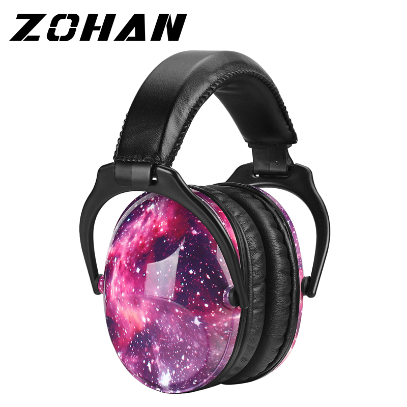 ZOHAN Kids Ear Protection Safety Ear Muffs Noise Reduction Ear Protection Defenders Hearing Protectors for Toddlers Children(China)