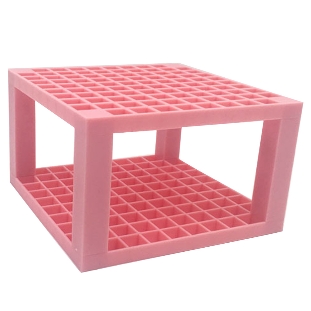 Plastic Paint Supplies Artist Pencil Holder Multifunction Organizer Desk Stand Detachable 96 Hole Markers Brush