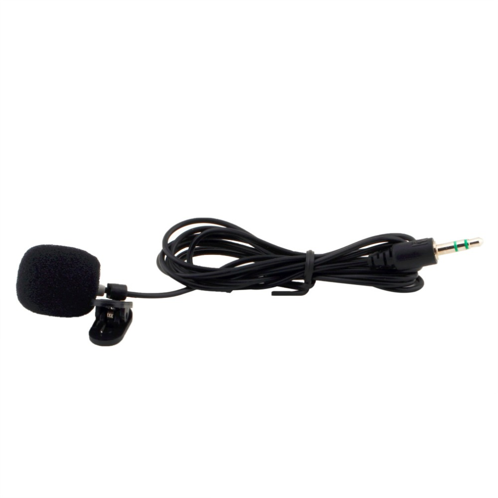 3.5mm Hands Free Clip On Mini Lapel Microphone For Lectures Teaching Lessons Education Jul 6