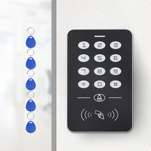 Simple access control EM card password access control system with 5 Keyfobs Access Controller