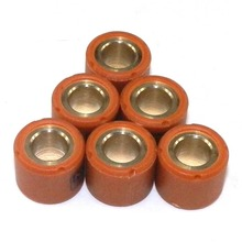 Pack of 6pcs Performance Variator Roller Weights 16mmx13mm 5g 6g 7g 8g 9g 10g For 139QMB 50cc GY6 Scooter Motorcycle Parts 16X13