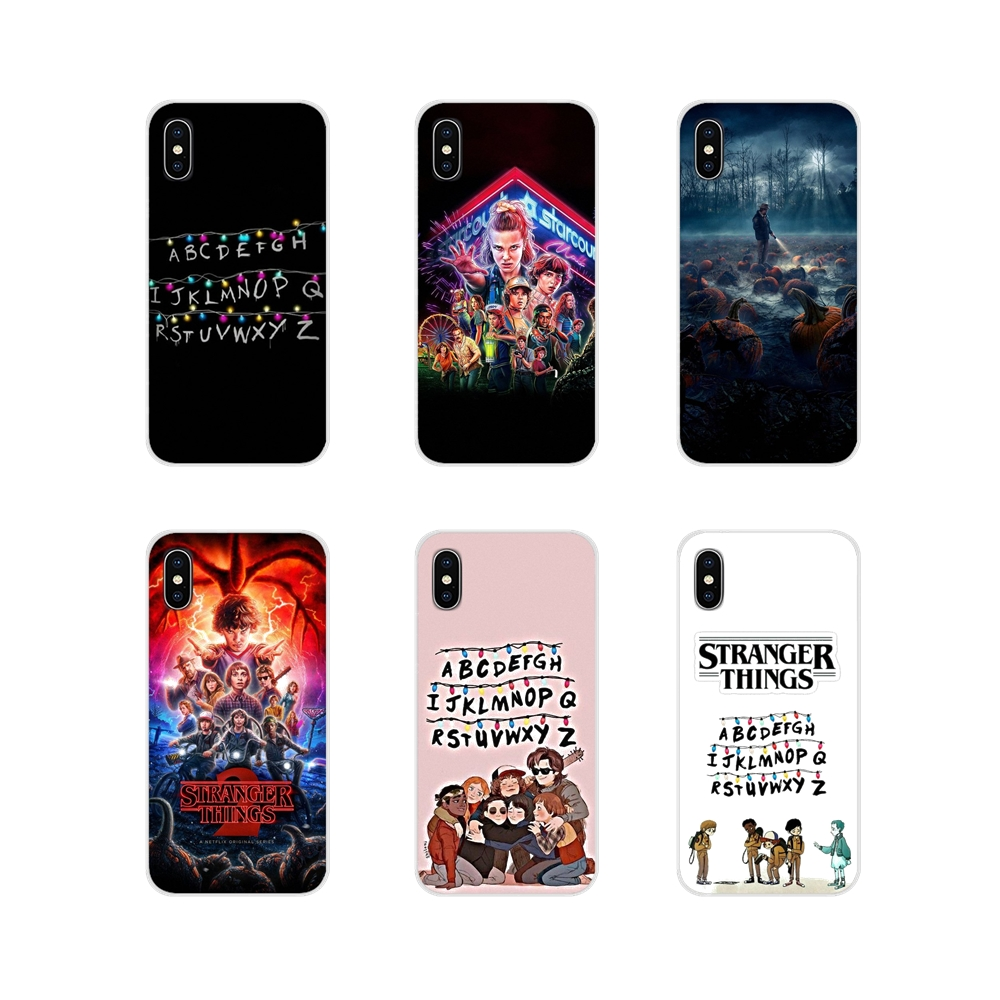Soft Cover Bag For LG G3 G4 Mini G5 G6 G7 Q6 Q7 Q8 Q9 V10 V20 V30 X Power 2 3 K10 K4 K8 2017 Stranger Things Lights Winona Ryder