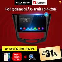 (Código Black Friday: BF2020ES10 100 € -10 €) Junsun-Radio Multimedia V1 pro con GPS para coche, Radio con reproductor de vídeo, 2 GB + 128 GB, Android 10, 2 din, para Nissan Qashqai X trail