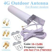 Wifi Antennes 4G Lte Outdoor Vat Antenne Waterdichte Sma CRC9 TS9 Omni Antenne High Gain 698 2700Mhz voor Huawei Router Modem