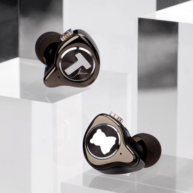 TFZ T X BEAR MONICA In Ear Monitor Professional Headphone Noise Canceling Super Bass DJ Music HIFI Headset Detachable Cable 5
