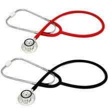 44mm przenośny stetoskop dwugłowicowy lekarz medyczny profesjonalny kardiologia sprzęt medyczny urządzenie Student Vet pielęgniarka