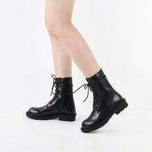 botas mujer invierno 2019 western boots cowboy women black fall platform martin