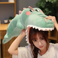 Stuffed Animal Alligator Crocodile Kawaii Ceative Pillow for Children Xmas Doll Toy Kids Gift
