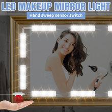 Usb 5v макияж настенный светильник с регулируемой яркостью косметическое