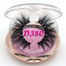 Mikiwi D380 Eyelashes 3D Mink Lashes Luxury Hand Made Mink Eyelashes Medium Volume Cruelty Free Mink False Eyelashes Upper Lash все цены