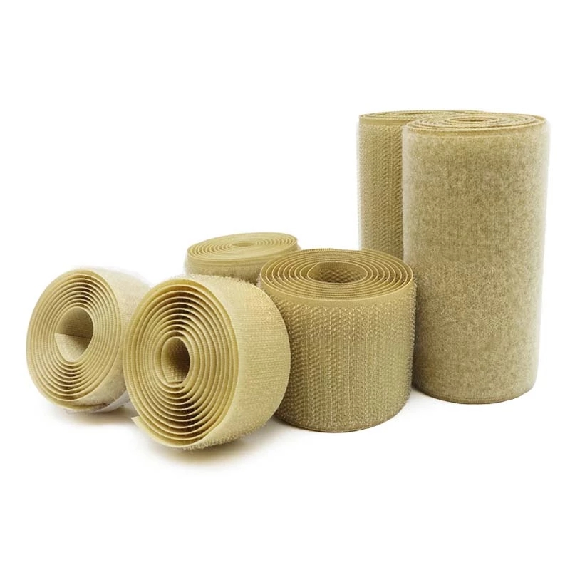 Competent 2-10cm Width Velcros No Adhesive Hook Loop Fastener Tape Sewing Magic Tape Sticker Velcroing Strap Couture Strip Clothing Khaki