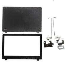 Nuovo Per ACER E5 571 E5 551 E5 521 E5 511 E5 511G E5 551G E5 571G E5 531 Z5WAH LCD superiore della copertura della cassa/LCD Copertura Della Mascherina/LCD cerniere