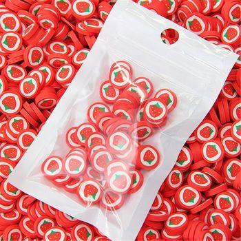 600 sztuk plastry owoców dodatki miękkie plastry dla Nail Art piękny wystrój dla Slime dzieci zabawki plastry owoców tanie i dobre opinie CN (pochodzenie) Fruit Slices Jednolity kolor Plastelina Unisex 5-7 lat