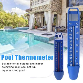 Summer Ponds Water Temperature Meter ABS Swimming Pool Multi-functional Durable Floating Thermometer Practical SPA Hot Tub Tool ponds 50g