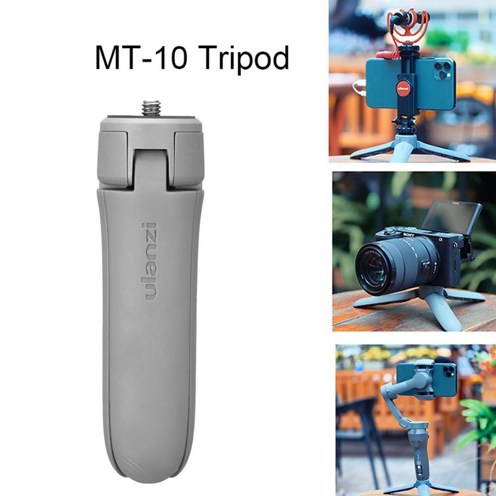 Base para Osmo Ulanzi MT-10 Mini Tripé Cardan Móvel 2 3 Vlog DSLR SLR Câmera Tripé para Smartphones r30