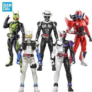 Bandai подлинный продукт маска рыцарь Мобильная фигурка RKF маска рыцарь двойная езда Циклон клоун & Amp; мотоцикл и один