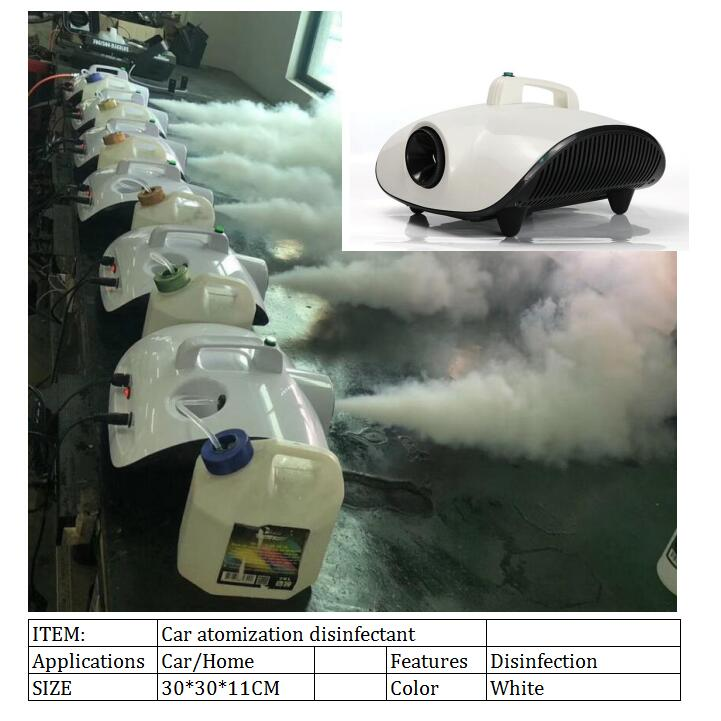 Atomizing Fog Smoke Disinfection Sprayer  900w Atomization Disinfectant Machine  Car Smoke Machine  Against Virus/germs DHL