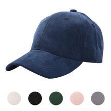Solid Color Baseball Cap Women Men Couple Adjustable Anti UV Peaked Hat Outdoor Sports Golf Fishing Hiking Beach Sportswear