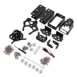 Image 1 - 6 DOF Robot Manipolatore Della Lega del Metallo Braccio Meccanico Morsetto Artiglio Kit MG996R per Arduino Robot Educazione
