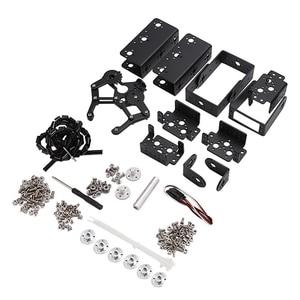 Image 1 - 6 DOF Robot manipülatör Metal alaşımlı mekanik kol kelepçe pençe kiti MG996R Arduino için robotik eğitim