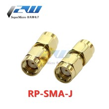 Coaxial RF Connector Router Adapter RP-SMA-J Reverse SMA Male Threaded Hole