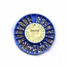 120 個コニカル Nordin 歯科テーパーネジポストキットリフィル 2 キー根管ファイル爪パイル固定ピン根管修理