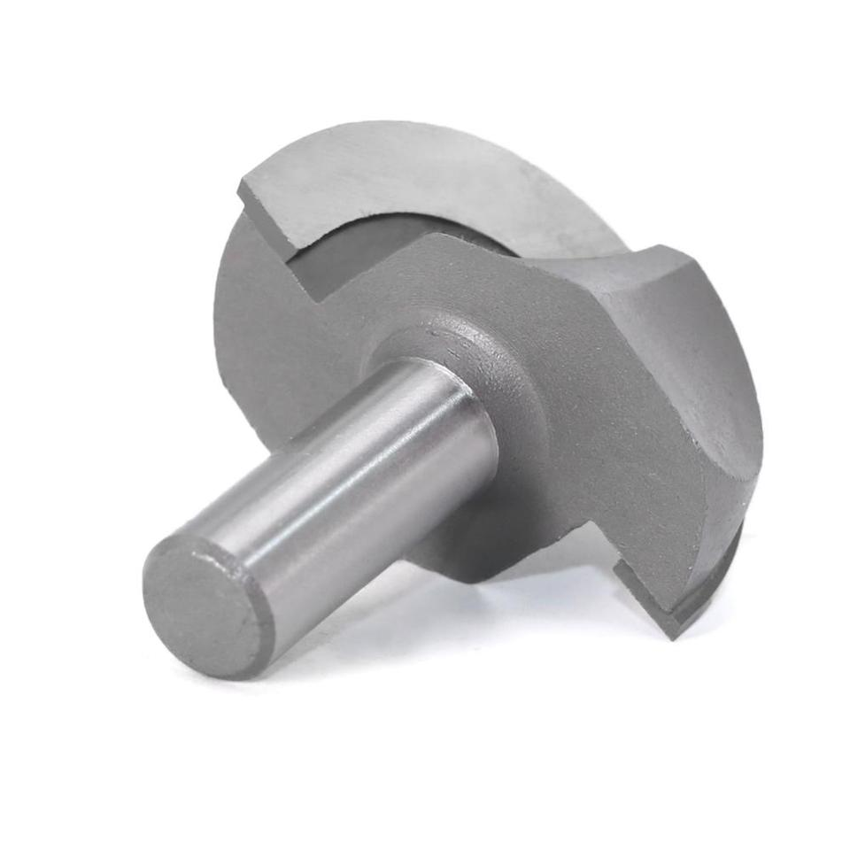 WHF-WUJIN 1pc 12mm Shank Ball Nose End Mills Double Edging Wood Router Bit Milling Cutters for Wood Wood Cove Box Bit Size : NO 1
