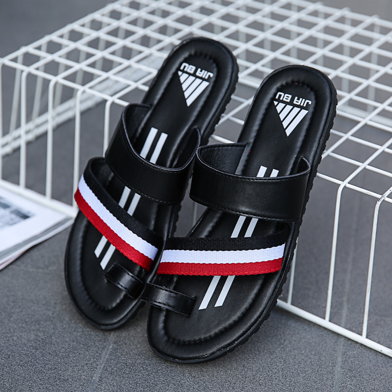 Hot Sale New Trend Slippers For Men Fashion Male Summer Beach Shoes Wearable Flat Flip Flops Mens Comfortable Shower Man Slippers