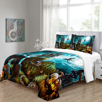 Home Duvet Cover Sets Bedding King Size Queen Comforter Happy