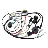 Atv 150Cc 200Cc 250Cc Zündspule Harness Schalter Montage Kabelbaum Spule Gleichrichter CDI ATV Magnet Zündkerze Quad Pit D|Sensoren & Schalter|   -